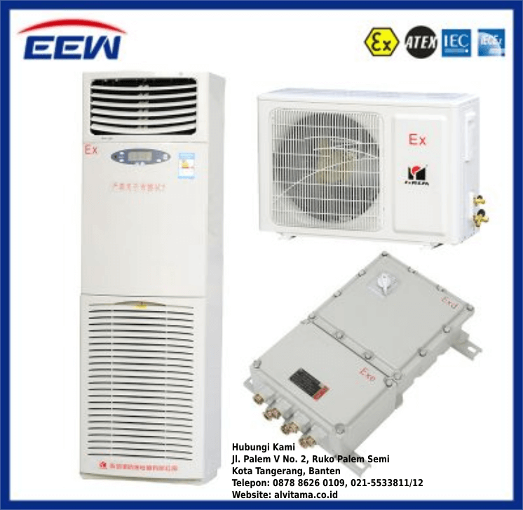 Jual Floor Standing Air Conditioners (AC) Explosion Proof Type BKGR