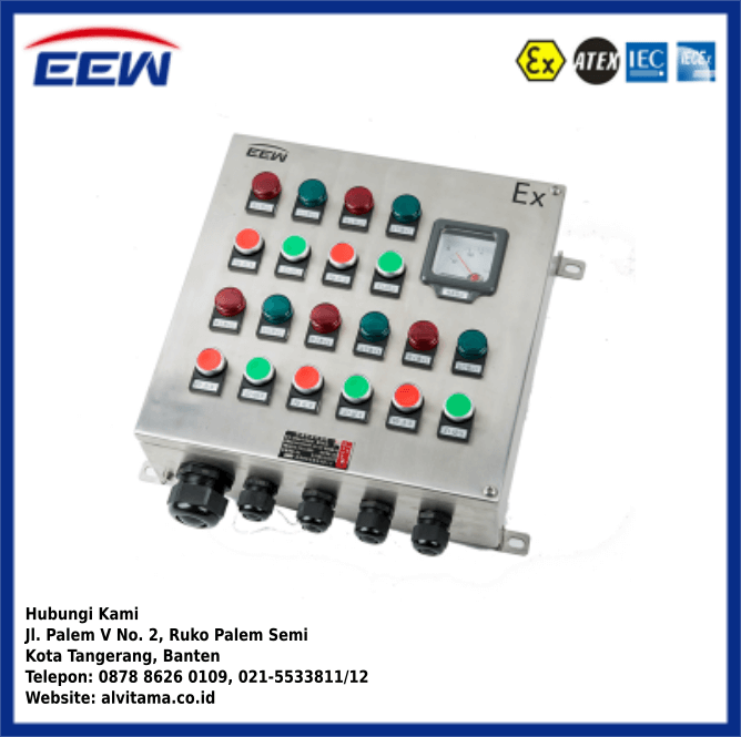 Jual Control Panel Explosion Proof Type ZXF8044
