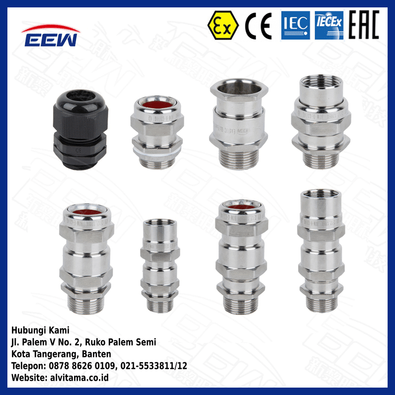 Jual Cable Glands Explosion Proof Type BDM