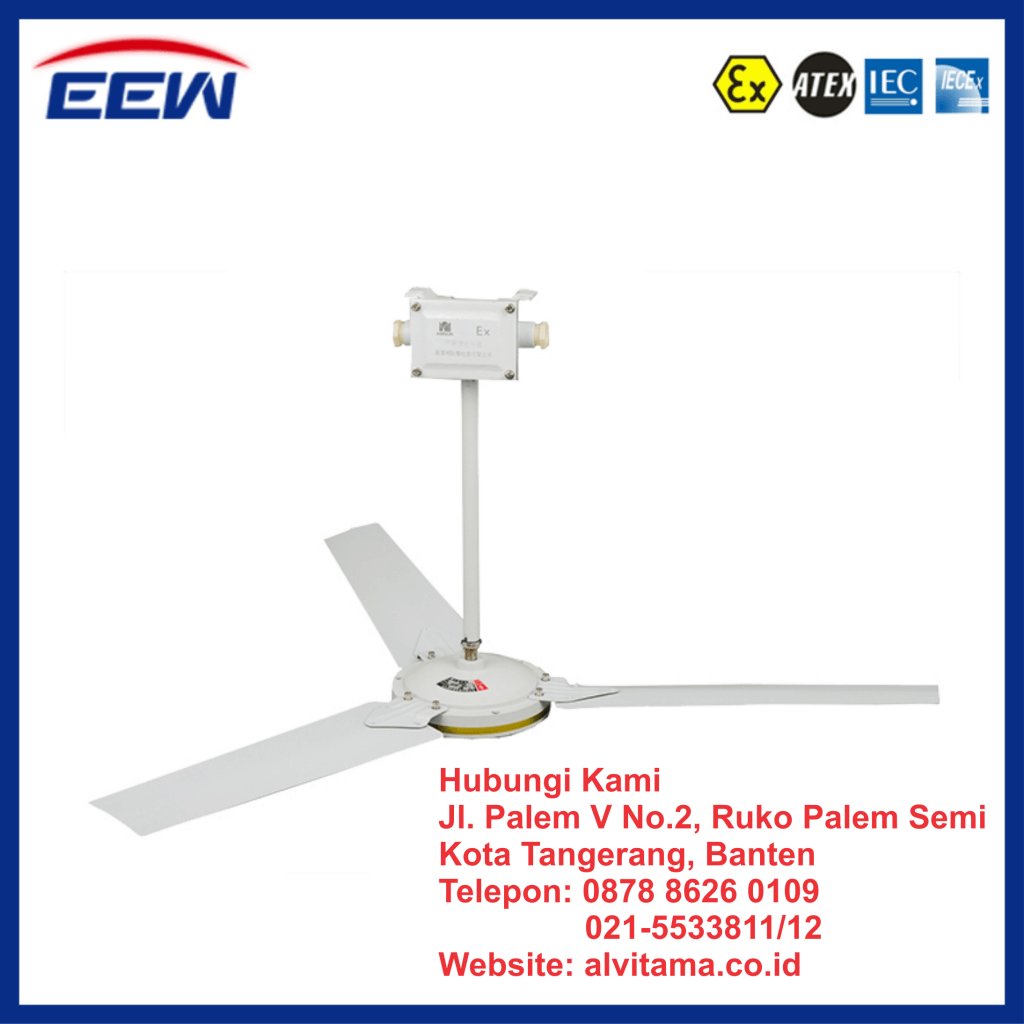 Jual Ceiling Fans Explosion Proof Type BFC